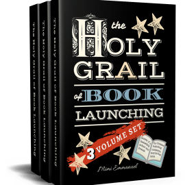THE HOLY GRAIL OF BOOK LAUNCHING