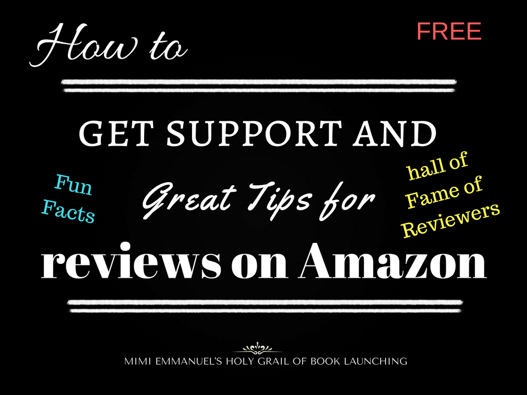GREAT TIPS FOR REVIEWS ON AMAZON