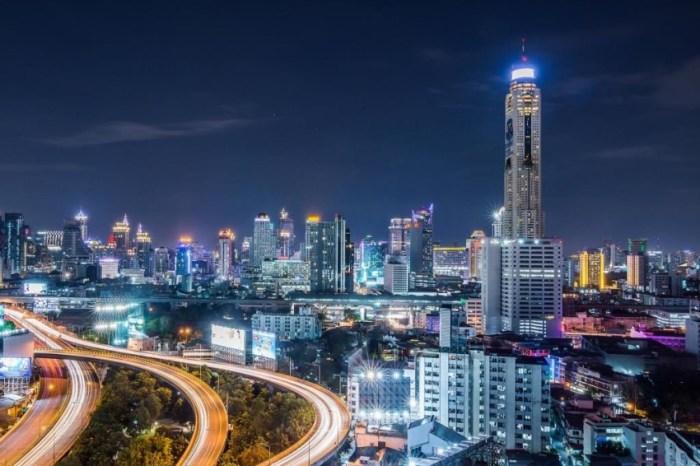 【曼谷美食】BaiyokeSky Hotel自助餐:曼谷最高78樓夜景餐廳,近水門市場霓虹夜市