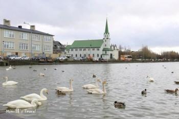 【冰島雷克雅維克景點】托寧湖 Tjornin:優雅至極的冰島天鵝湖散步去