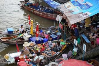 【泰國曼谷】安帕瓦水上市場(交通、看螢火蟲),泰國最好吃的美食是路邊攤無誤