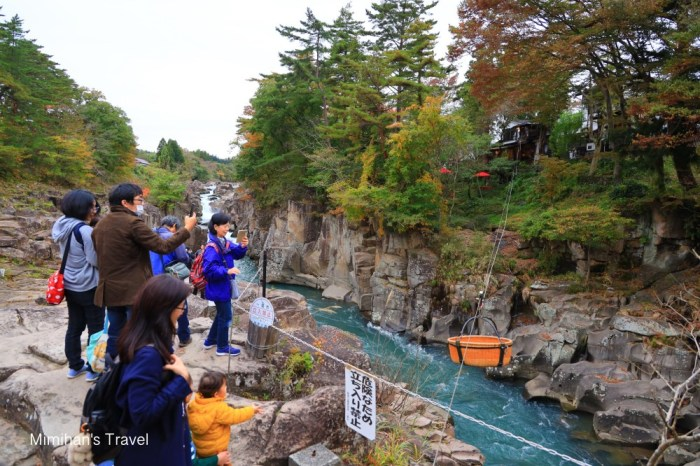【岩手景點】嚴美溪&郭公糰子(附交通):訪日本第一美溪,有國旗台日友好的美味糰子