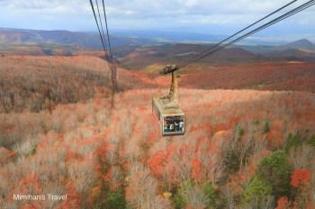 【青森景點】八甲田山纜車(交通&購票建議)超壯觀秋天紅葉森林、冬季樹冰絕景推薦