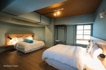 台東住宿 翠安儂風旅:藍帶法式甜點店+法國浪漫風飯店,好停車早餐美味四人房分享