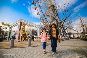 【大阪景點】天保山摩天輪:世界最大級摩天輪,用大阪周遊卡免費搭乘眺望壯觀風景