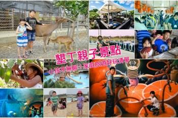 【墾丁親子景點推薦】熱門墾丁親子旅遊好處去,戶外活動/體驗DIY/餵動物,小孩不無聊