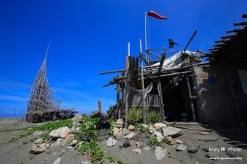 【台南安平景點】漁光島:台南海邊竟有神秘遺跡,還有奇怪的圖騰,好像有電影浩劫重生的fu捏XD