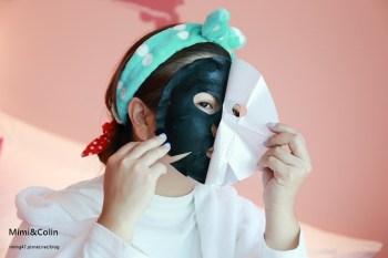【生活好物】SEXYLOOK極美肌の海蔘精華黑面膜:質地輕柔,美肌飽水。媽呀,我變成包青天囉!!(文末抽面膜)