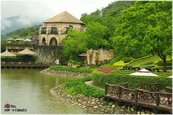 【台中遊記】柳暗花明又一村,尋找隱藏在山中的古堡花園~『新社莊園』