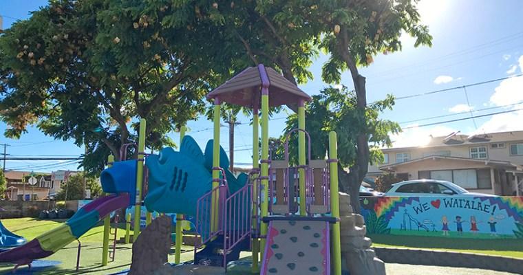 ハワイらしい小学校