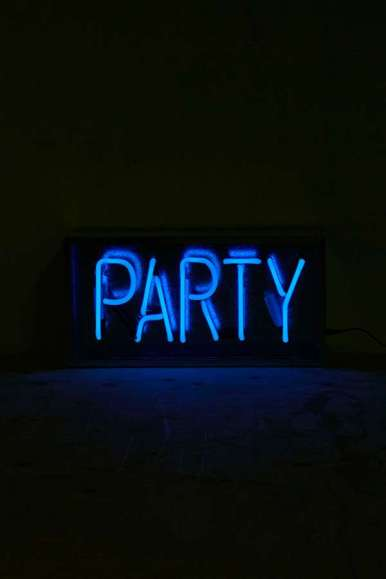 Party into the night