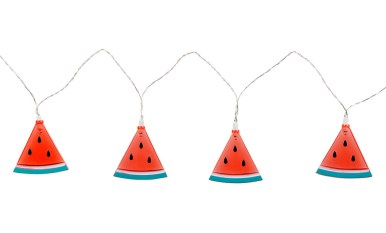 Watermelons - colourful lights