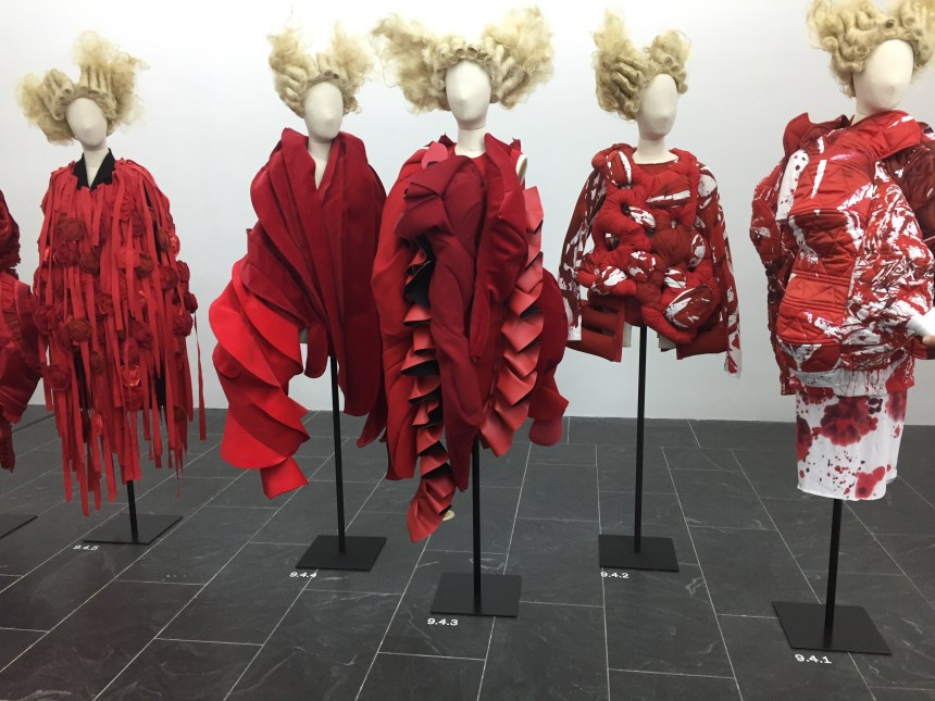 The Costume Institute's Rei Kawakubo Comme des Garcon is Off and Running