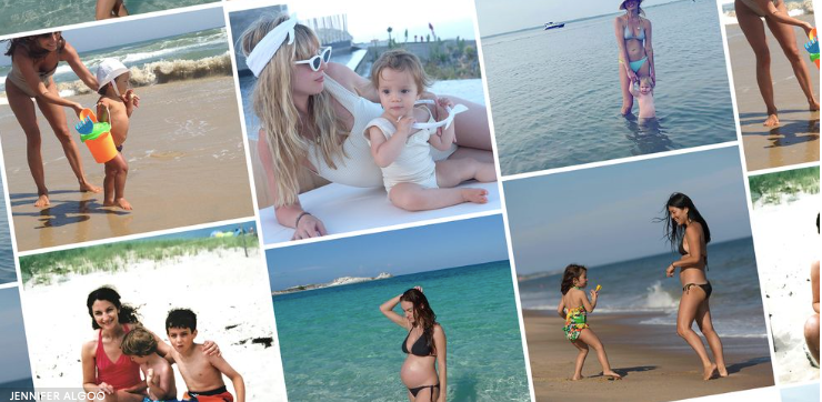 Postpartum Swimsuits According to Style Pros