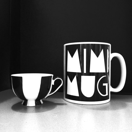 on the right: MimiMug by Mimi Berlin. on the left Melon cup by Josef Hoffmann (cannot be ordered here).