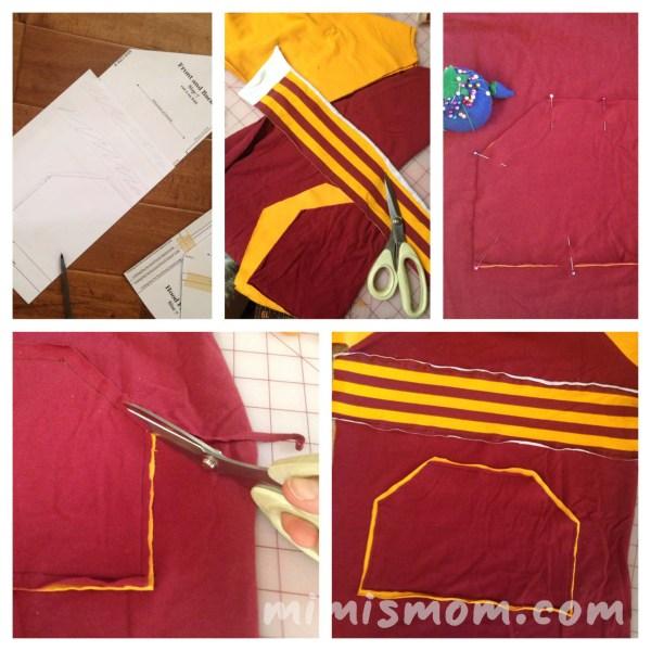 Quidditch Shirt Mini Tutorial