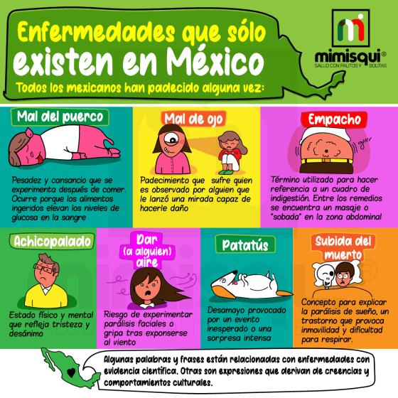 enfermedades que sólo padecen los mexicanos