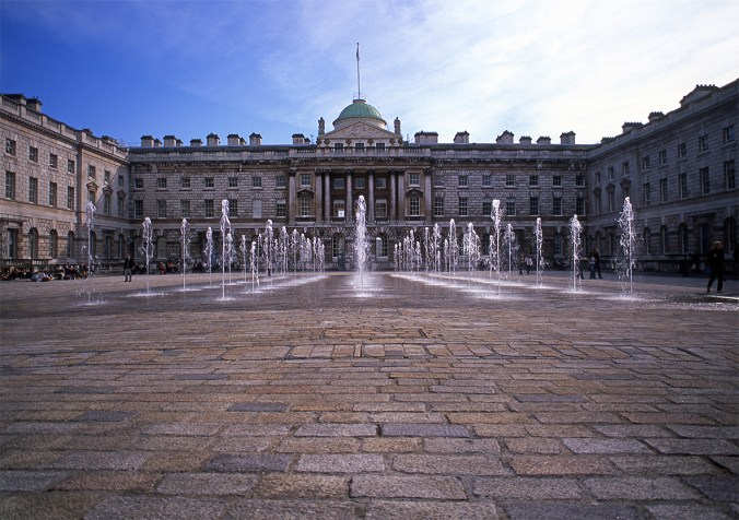 The Edmond J. Safra Fountain Court at Somerset House © Jeff Knowles 2