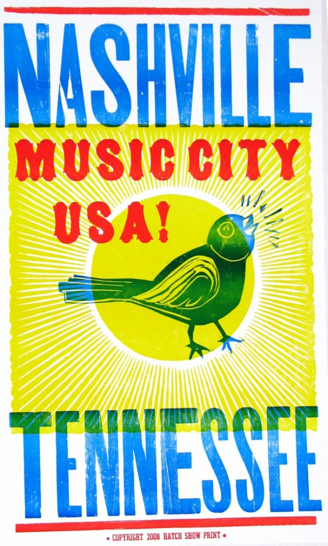 Music City poster Hatch