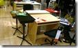 小さな机もあります。。75cmぐらい