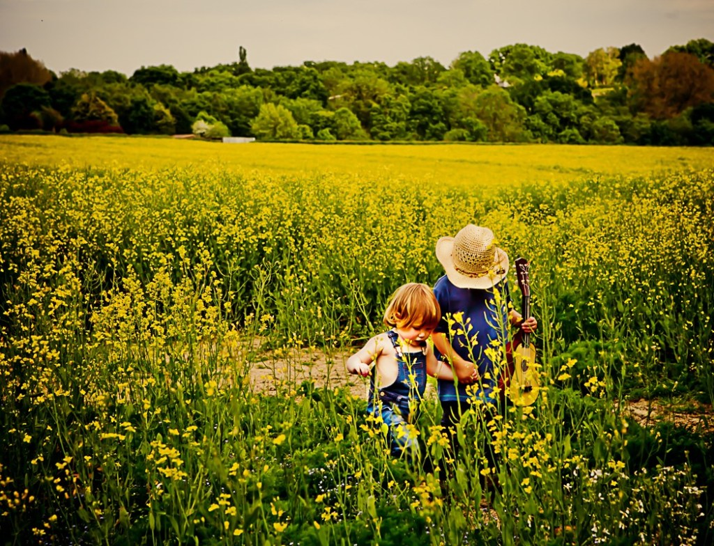 Rapeseed Child Portraits