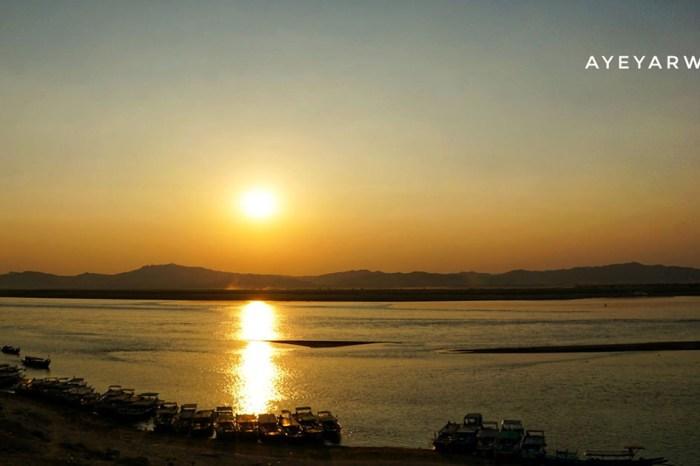 【緬甸自由行】三城一湖逐光追影之旅 04.伊洛瓦底江(Ayeyarwady)   緬甸母親之河