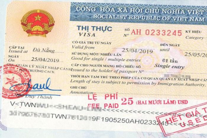 【越南自由行】行前必看!2020年最新!越南落地簽證省錢輕鬆辦|圖文教學