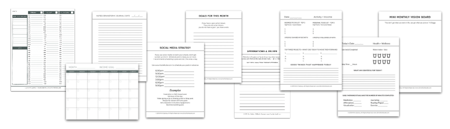 daily method of operation workbook sheets