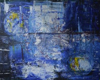Seesaw, 100x80cm Acrylic on canvas, SEK 15 000,00