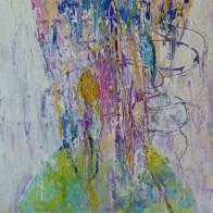 90x90cm Acrylic and sand on canvas, SEK18 000,00