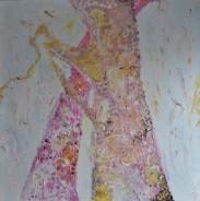 90x90cm Acrylic and sand on canvas, SEK16 000,00