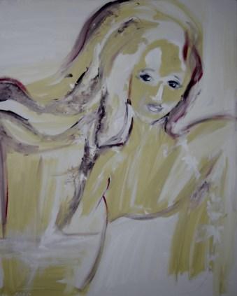 Goddess of soil, 80x100cm Acrylic on canvas, SEK 15 000,00