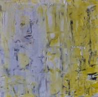 Still mind in a crowd, 30x20cm Oil on canvas, SEK 5000