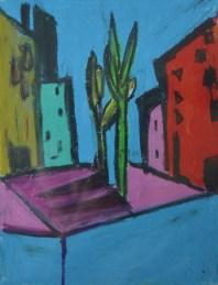Pastel on paper in A4 cardboard passepartout, SEK 2000,00