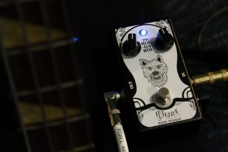 The very first Rougarou Bass Tube Overdrive
