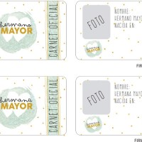 Descargable carnet de herman@ mayor