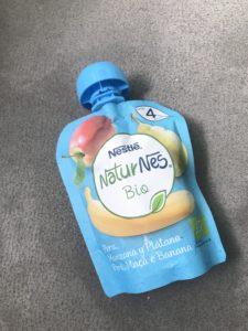 Bolsita de frutas Naturnes de Nestlé