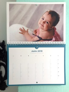 Calendario personalizado Cheerz