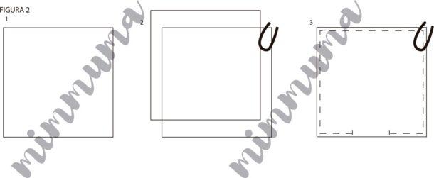 Instrucciones gráficas del trapo de cocina