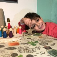 DIY Calendario perpetuo inspiración Waldorf / Montessori