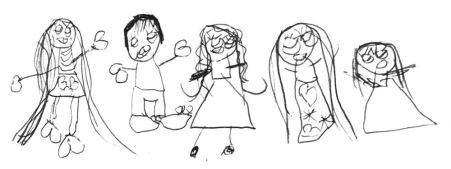 dibujo de nuestra familia