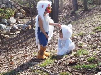 Mononoke y Loba disfraces niñas