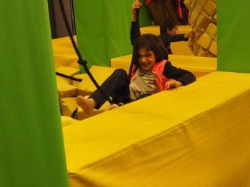 Felicidad y diversión en la zona Play Ninja