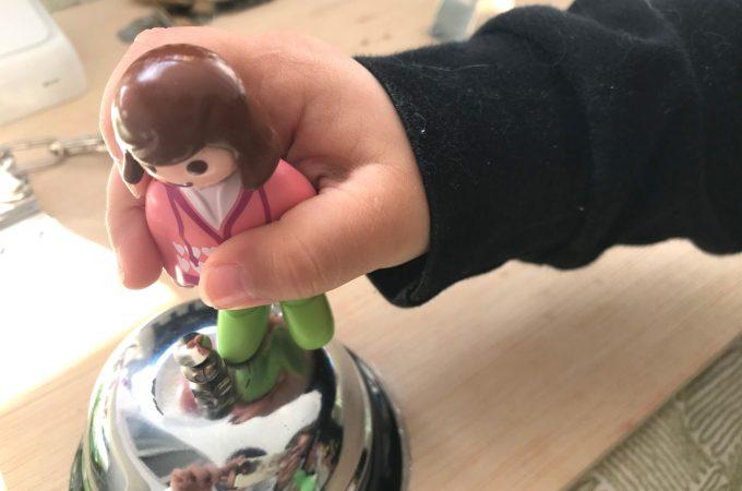 Tablero con Playmobil 123