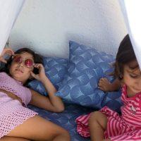 Tienda de campaña para jugar DIY para niños