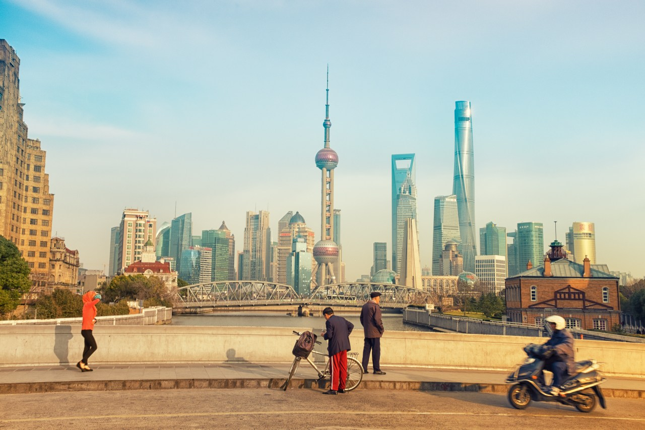 early matinee at the Souzou Creek~ Shanghai