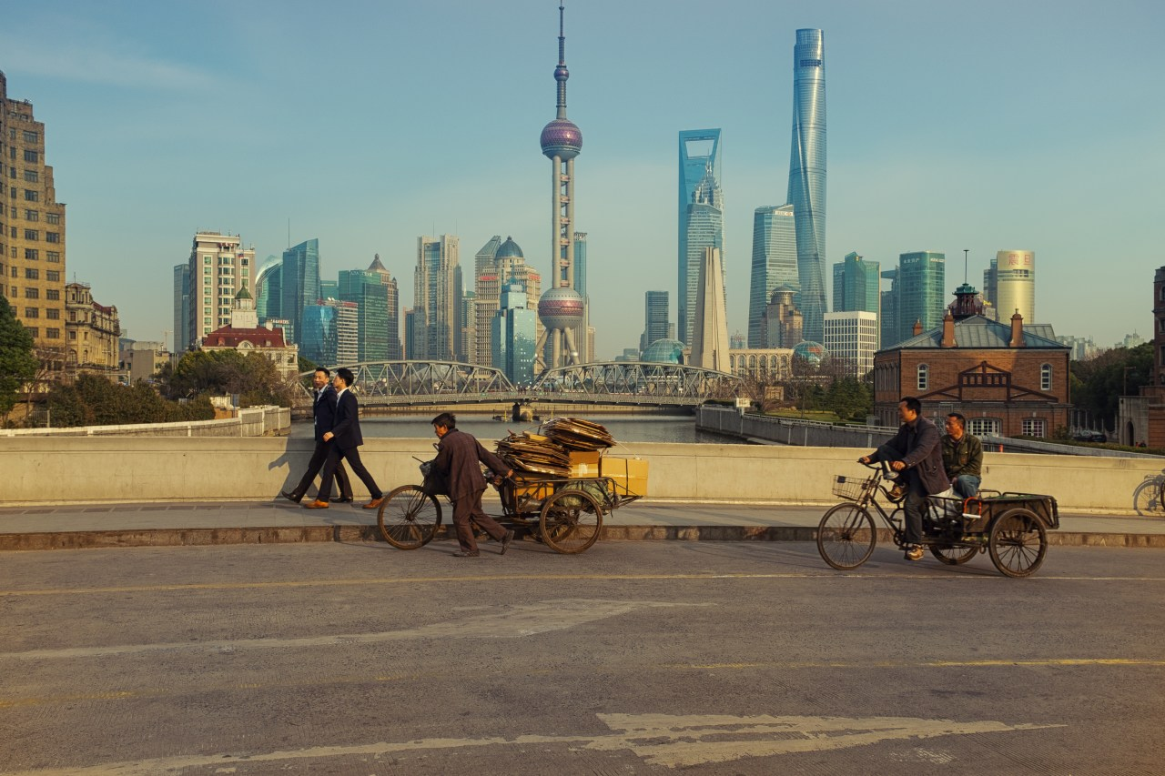 the working force~ Shanghai