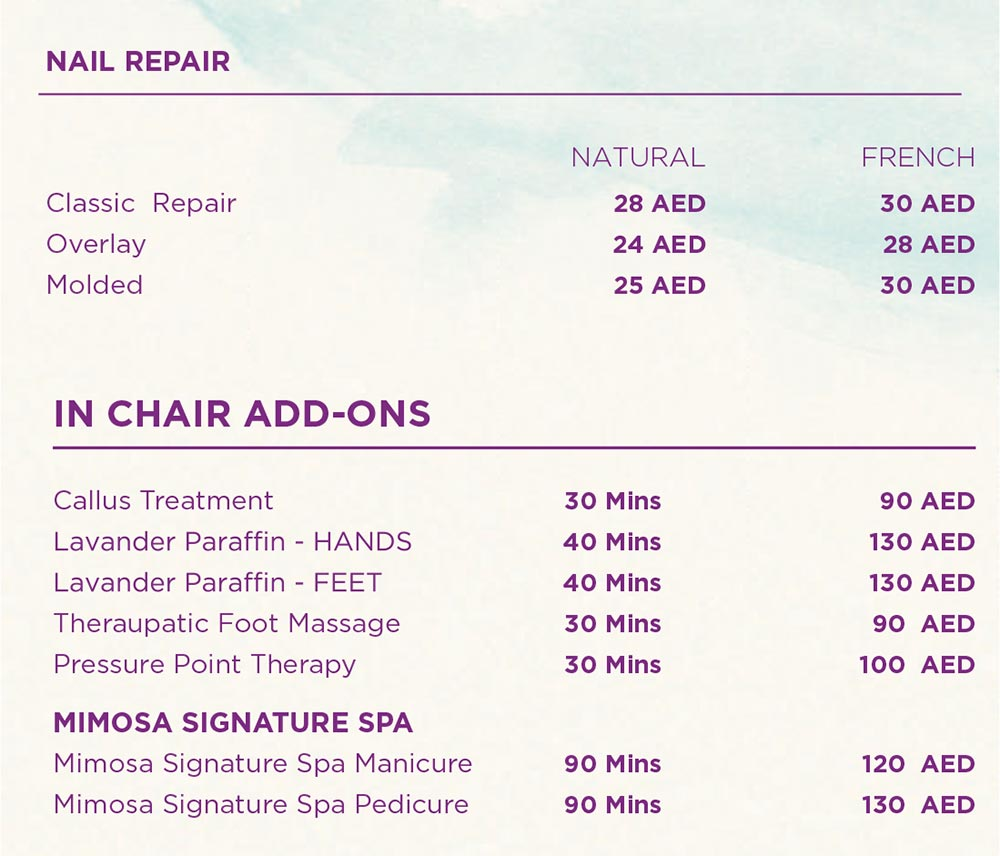 Classic Treatment - Signature Spa Manicure and Pedicure