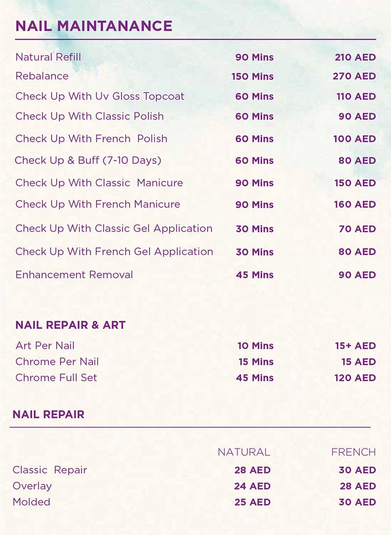 best nail extension salon in dubai
