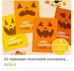Kit imprimable Halloween